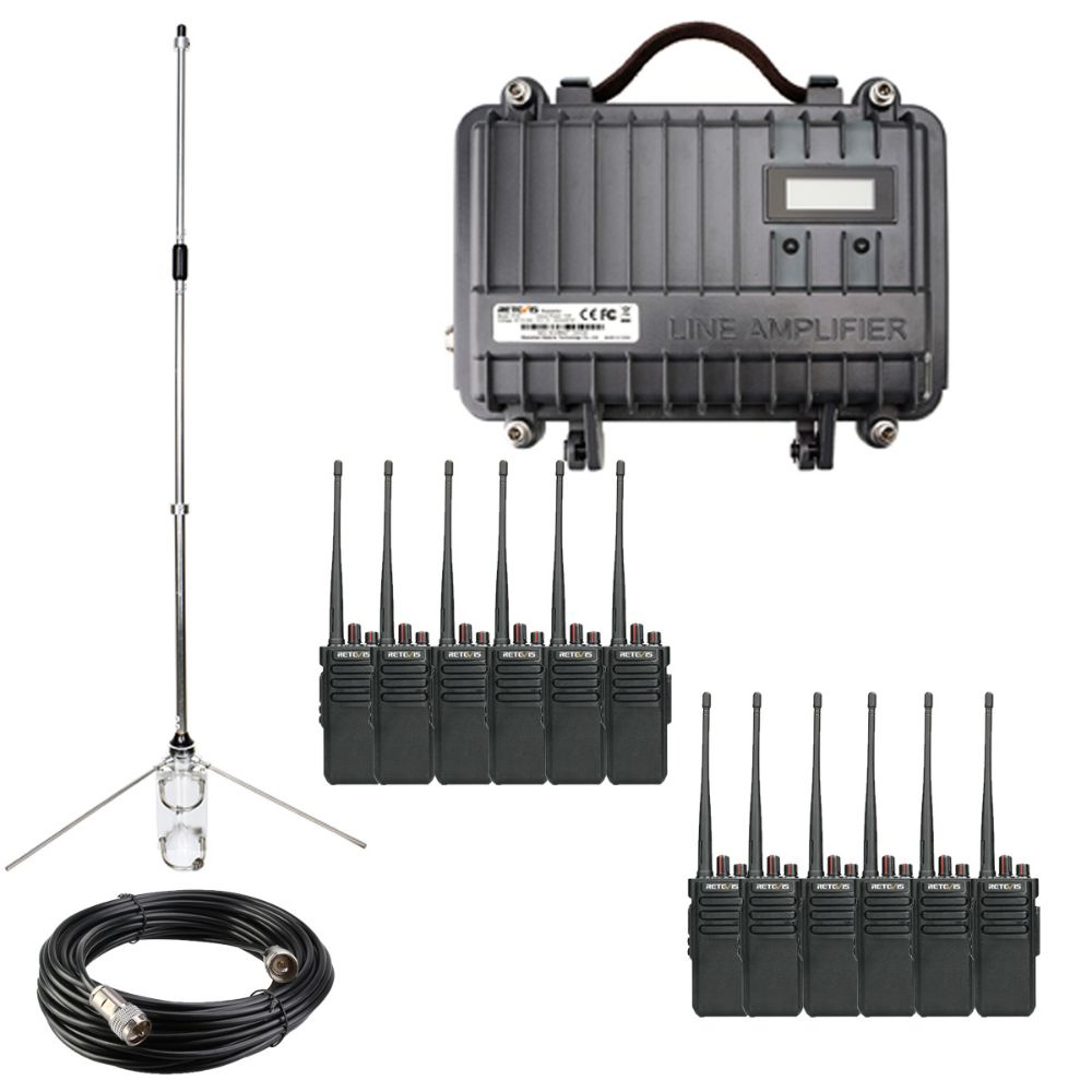 20km Cheap analog radio solution set for warehouse commercial