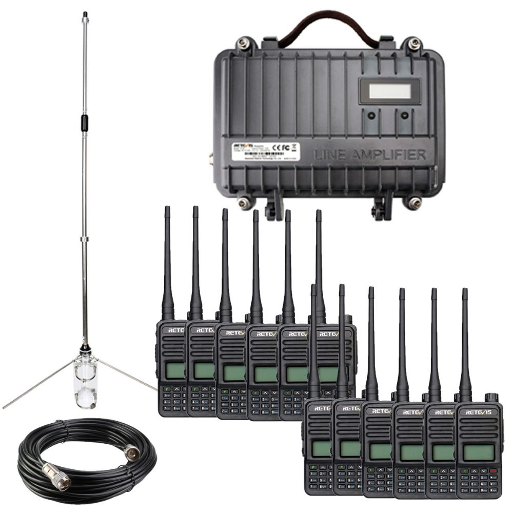Industries Long rang radio solution set for building