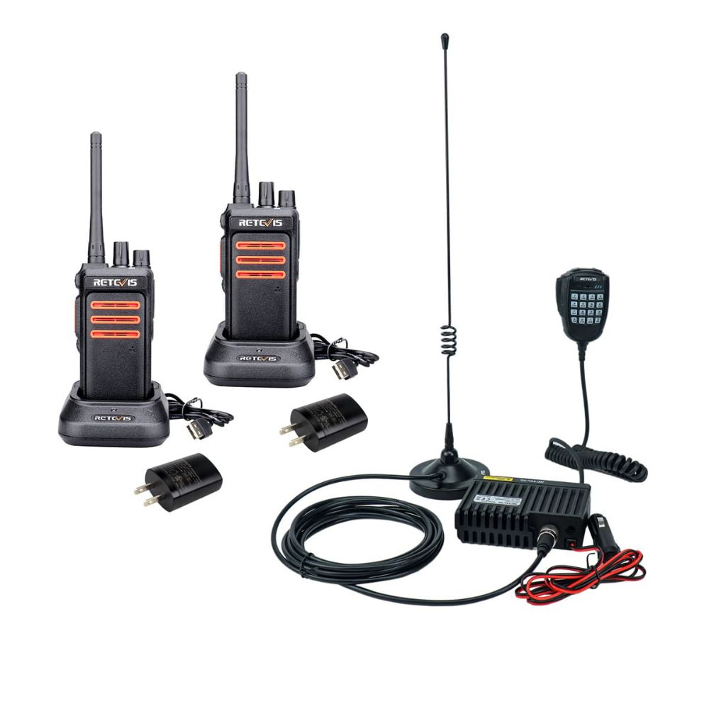 RA25-Easy operate GMRS Farm Radio Communication Kit