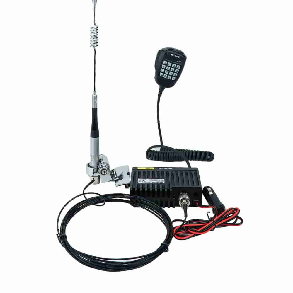 GMRS Mobile radio set for Jeep offroad communication