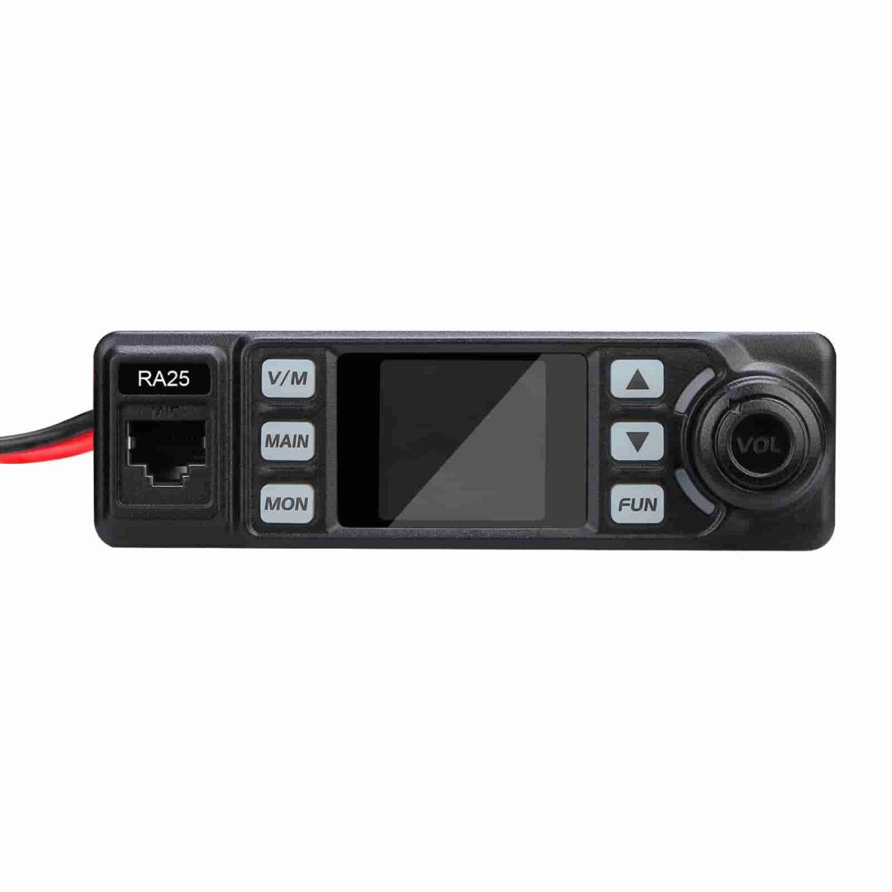 Mobile GMRS Radio for Jeep