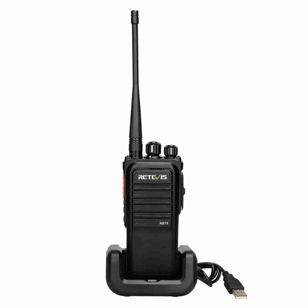 RB75 IP67 Waterproof large battery GMRS two way radio