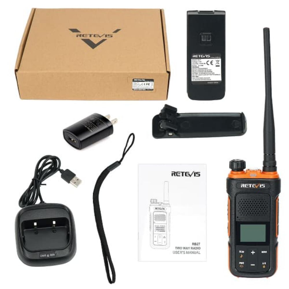 RB27 NOAA GMRS Two-way Radio