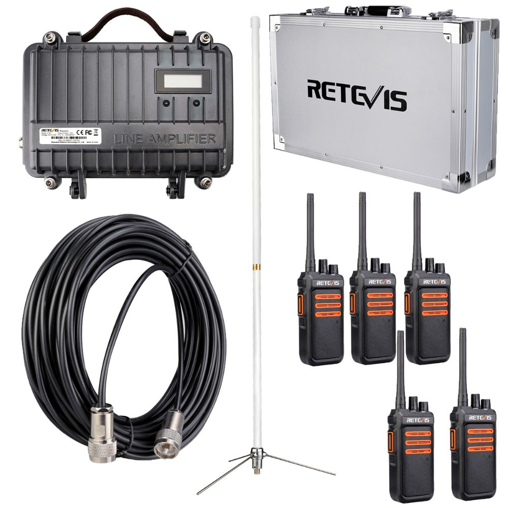 Fixed GMRS Radio solution for warehouse constrcuction