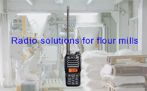 Why do flour mills need to use explosion-proof walkie-talkies? doloremque
