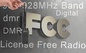 902-928MHz Band license-free two way radio regulations explain doloremque