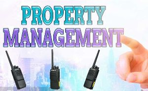 Retevis RT50 DMR Radio use in property management doloremque