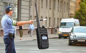 Retevis RT80 DMR radio use for traffic command doloremque