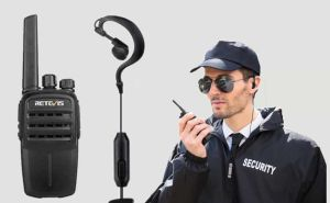 Retevis RT40 DMR handheld two way radio use in Security doloremque
