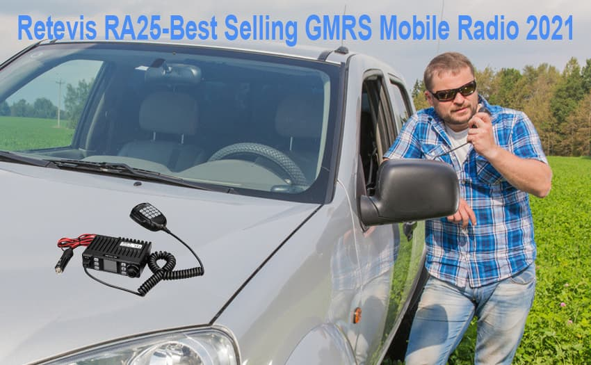 Retevis RA25-Best Selling GMRS Mobile Radio 2021
