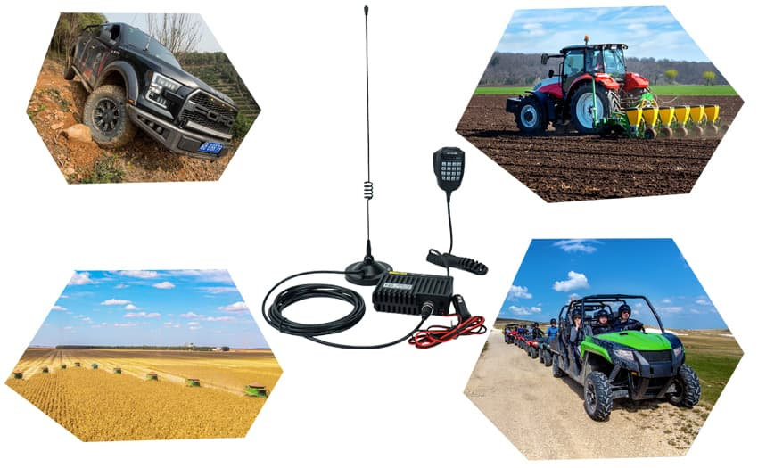Most Cost-Effective Mobile GMRS Radio Set -Retevis RA25