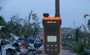 Stay with Retevis Weather Alert Radio, minimize the loss when a tornado arrives doloremque